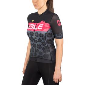 Alé Cycling PRS Ibisco Cykeltrøje Damer, black-gerbera